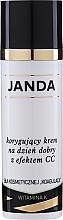 Profumi e cosmetici CC-Crema correttiva per pelle con couperose - Janda Correcting CC Cream