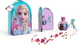 Profumi e cosmetici Disney Frozen II - Set (edt/100ml + lipgloss/6ml + bag)