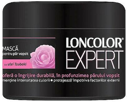 Maschera per capelli colorati con olio di Tsubaki - Loncolor Expert