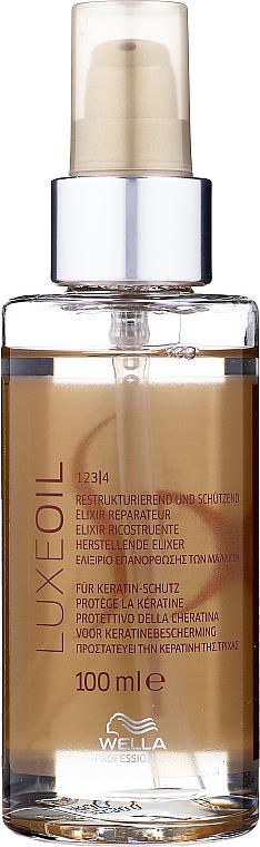 Elisir rigenerante per capelli - Wella SP Luxe Oil Reconstructive Elixir