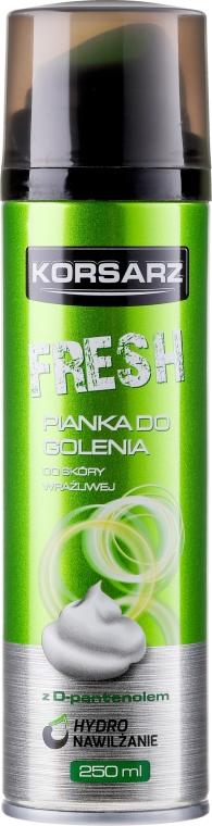 """Schiuma da barba """"Fresh"""" - Pharma CF Korsarz Fresh Shaving Foam"""