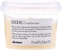 Profumi e cosmetici Condizionante delicato per tutti i tipi di capelli - Davines Essential Haircare Dede Delicate Air Conditioning
