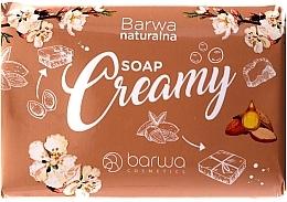 Profumi e cosmetici Sapone cremoso con burro di mandorle - Barwa Natural