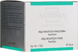 Profumi e cosmetici Maschera antietà per viso e occhi - Terme Di Saturnia Rejuvenation Mask Face-Eyes