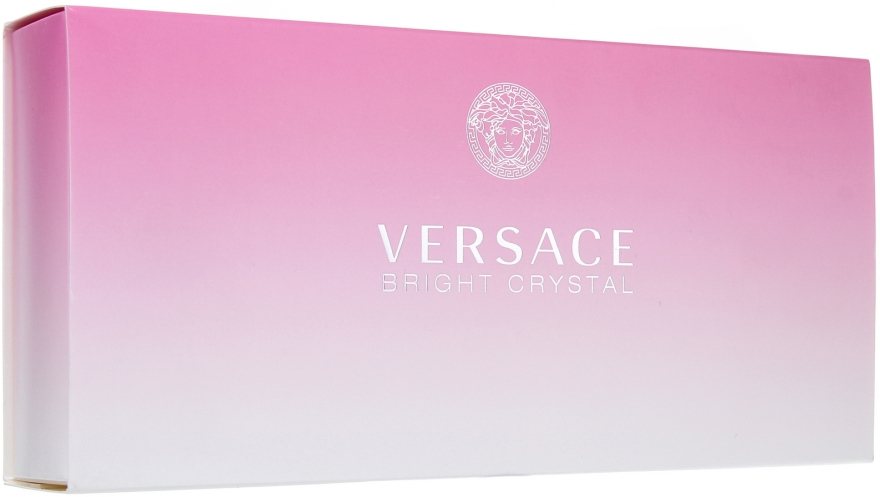 Versace Bright Crystal - Set (edt 5 + sh/g 25 + b/l 25)
