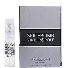 Profumi e cosmetici Viktor & Rolf Spicebomb - Eau de toilette (Campioncini)