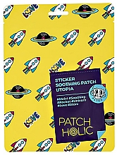 Profumi e cosmetici Patch viso - Patch Holic Sticker Soothing Patch Utopia