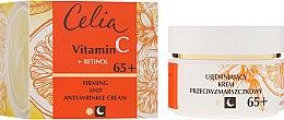 Profumi e cosmetici Crema viso anti-età, giorno e notte 65+ - Celia Witamina C