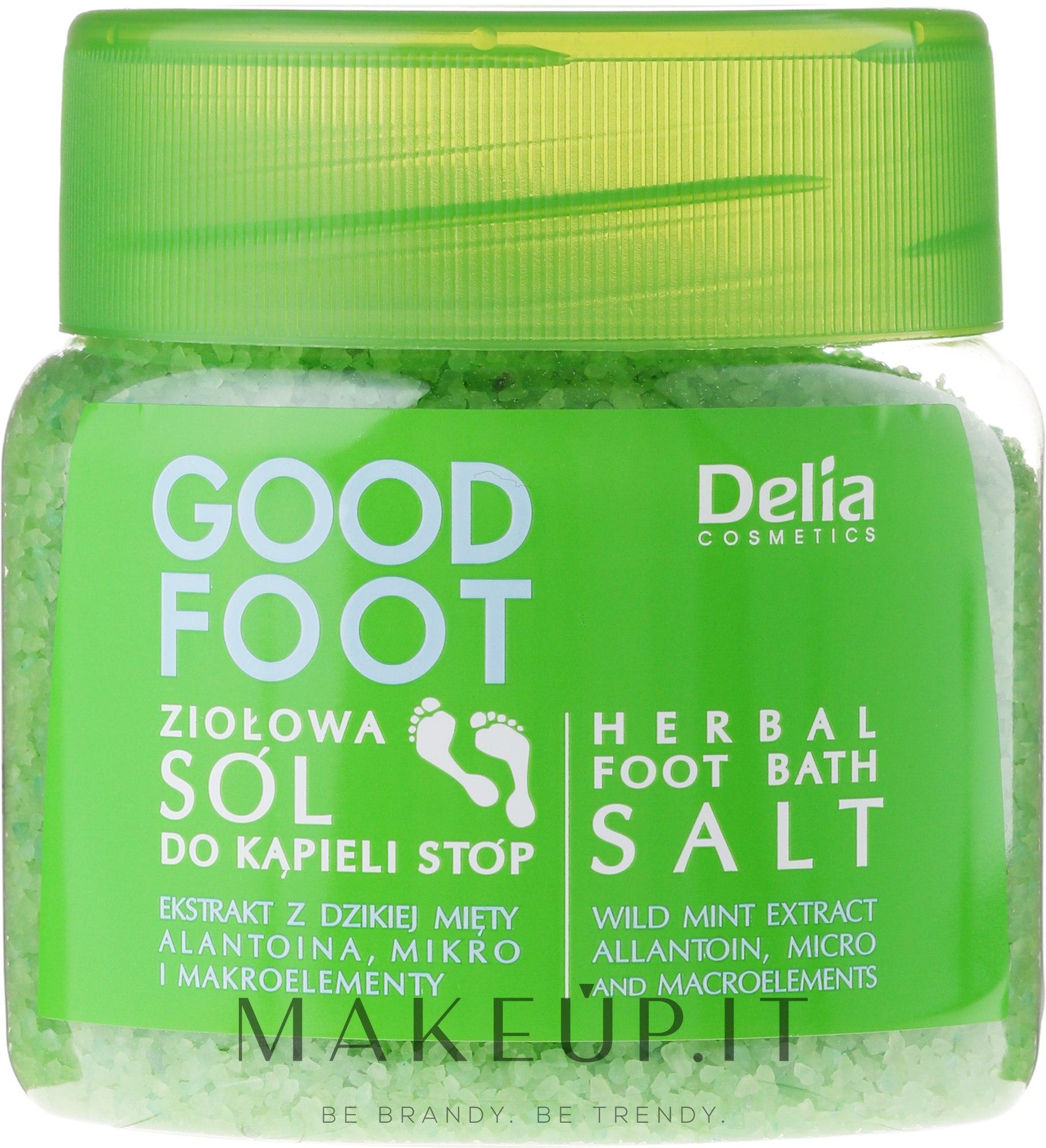 Sale per i piedi - Delia Cosmetics Good Foot Herbal Foot Bath Salt — foto 570 g