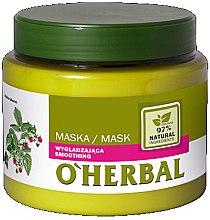 Profumi e cosmetici Maschera levigante con estratto di lampone - O'Herbal