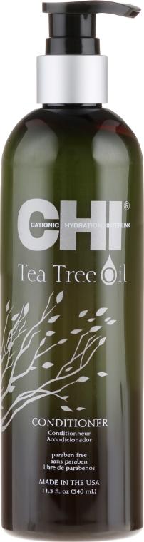 Condizionante per capelli con olio dell'albero del tè - CHI Tea Tree Oil Conditioner — foto N1