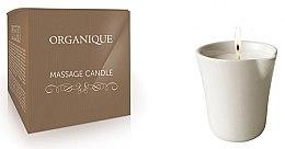 """Profumi e cosmetici Candela per massaggio SPA """"Ceramica bianca"""" Bambù - Organique Spa Massage Candle Bamboo (senza manico)"""