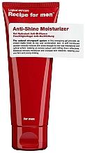 Profumi e cosmetici Gel idratante anti lucentezza - Recipe For Men Anti Shine Moisturize