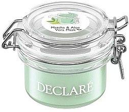 Profumi e cosmetici Maschera antistress con tè verde matcha e aloe vera - Declare Matcha and Aloe Vera Mask