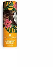 "Profumi e cosmetici Balsamo labbra ""Coconut Energy"" - Orientana"