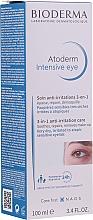 Crema contorno occhi 3in1 - Bioderma Atoderm Intensive Eye — foto N3