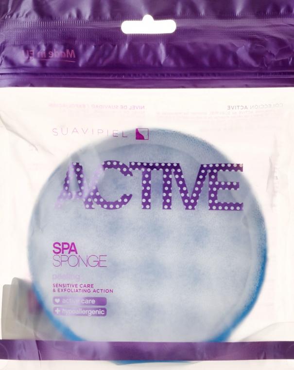 Spugna da doccia, blu - Suavipiel Active Spa Sponge — foto N3