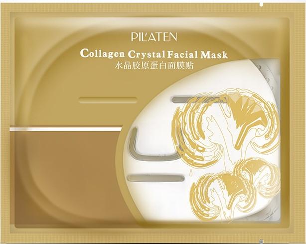 Maschera con collagene per viso - Pilaten Collagen Crystal Facial Mask