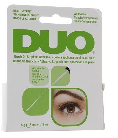 Colla vitaminica per ciglia finte - Duo Brush-On Lash Adhesive