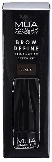 Gel per sopracciglia - MUA Brow Define Long-Wear Brow Gel