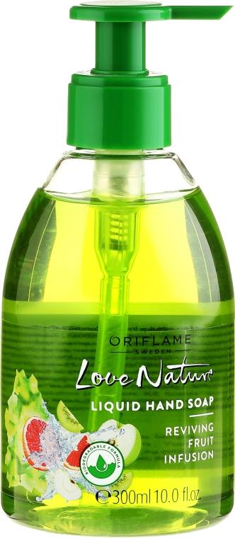 "Sapone liquido mani ""Fruit Mix"" - Oriflame Fruit Infusion Reviving Liquid Hand Soap — foto N1"