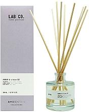 Profumi e cosmetici Diffusore di aromi - Ambientair Lab Co. Amber & Clove