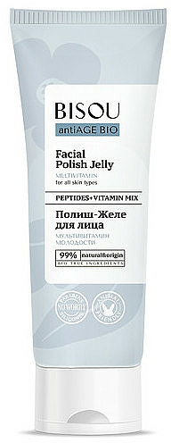 Gel viso multivitaminico - Bisou AntiAge Bio Facial Polish Jelly