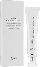 Profumi e cosmetici Crema idratante illuminante - Esfolio Snow Whitening Cream