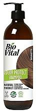 Profumi e cosmetici Shampoo per capelli castani - DeBa Bio Vital Colour Revive Brunette