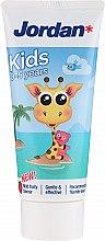 Profumi e cosmetici Dentifricio 0-5 anni, giraffa - Jordan Kids Toothpaste