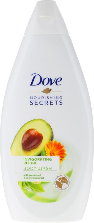 "Gel doccia ""Avocado"" - Dove Nourishing Secrets Invigorating Shower Gel"