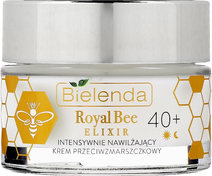 Crema idratante antirughe - Bielenda Royal Bee Elixir 40+ Anti-Wrinkle Moisturizing Cream