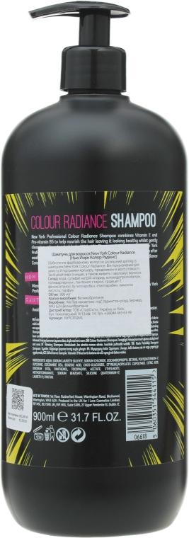 Shampoo per capelli colorati - I love New York Professional Colour Radiance Shampoo — foto N2