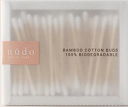 Profumi e cosmetici Dischetti di cotone, in bambù - Nudo Nature Made Bamboo Cotton Buds