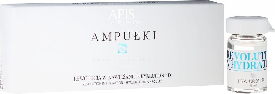 Concentrato viso - APIS Professional 4D Hyaluron Concentrate Ampule
