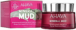 Profumi e cosmetici Maschera idratante - Ahava Mineral Mud Brightening & Hydrating Facial Treatment Mask