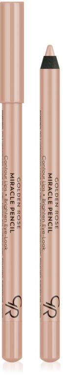 Matita occhi e labbra - Golden Rose Miracle Pencil Contour Lips Brighten Eye-Look