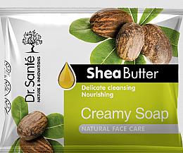 Profumi e cosmetici Sapone crema al burro di karitè per il viso - Dr.Sante Cream Soap