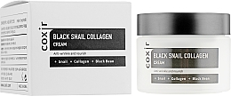 Profumi e cosmetici Crema viso nutriente antietà - Coxir Black Snail Collagen Cream Anti-Wrinkle And Nourish