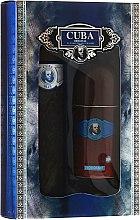 Profumi e cosmetici Cuba Blue - Set (edt/100ml + deo/50ml)