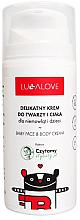 Profumi e cosmetici Crema delicata per bambini per viso e corpo - Lullalove Baby Lotion For Face & Body