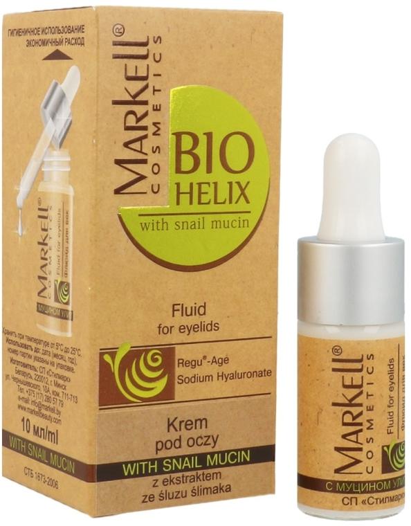 Crema contorno occhi con estratto di bava di lumaca - Markell Cosmetics Bio-Helix Cream