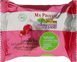 Profumi e cosmetici Sapone bio-organico con aroma di melograno - Ma Provence Organic Soap