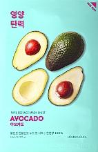 Profumi e cosmetici Maschera viso in tessuto, con estratto di avocado - Holika Holika Pure Essence Mask Sheet Avocado