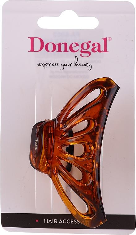 Pinza per capelliFA-5802, grande, colore ambra - Donegal