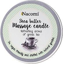 Profumi e cosmetici Candela da massaggio con burro di karité e tè verde - Nacomi Shea Butter Massage Candle