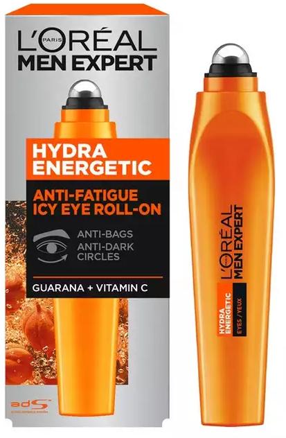 Siero contorno occhi - L'Oreal Paris Men Expert Hydra Energetic Roll-on Eyes