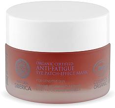 Profumi e cosmetici Maschera patch contorno occhi anti-affaticamento - Natura Siberica Organic Certified Anti-Fatigue Eye Patch-Effect Mask