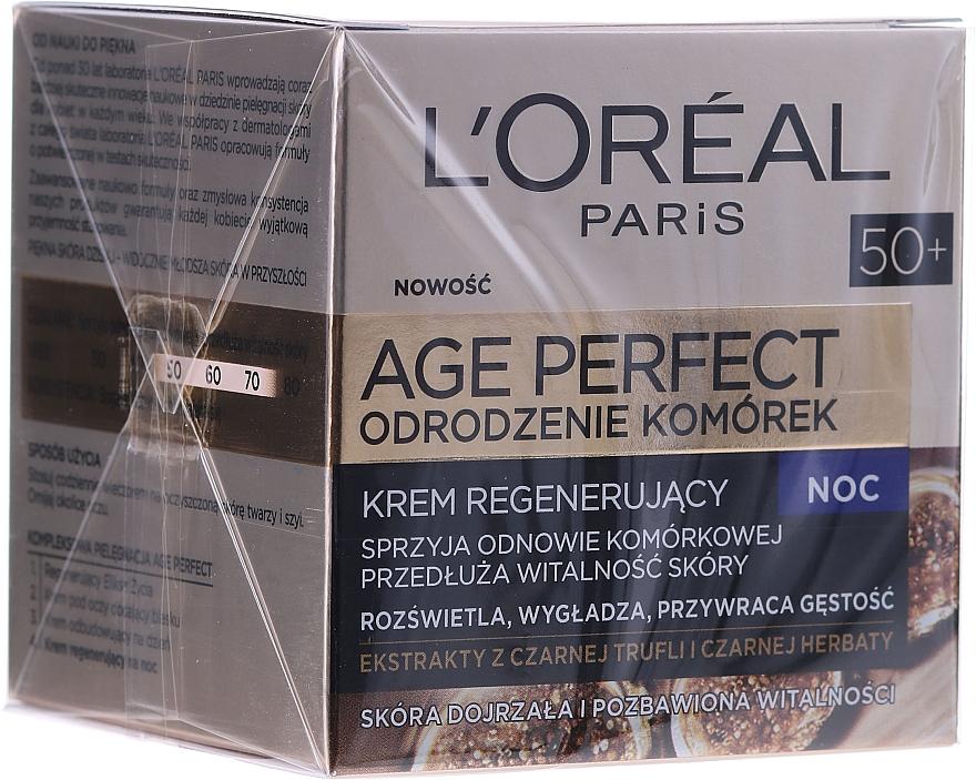 Crema viso da notte - L'Oreal Paris Age Perfect Cell Revival Cream 50+ — foto N2