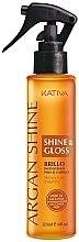 """Profumi e cosmetici Spray con olio di argan """"Lucentezza e brillantezza dei capelli"""" - Kativa Argan Shine & Gloss"""